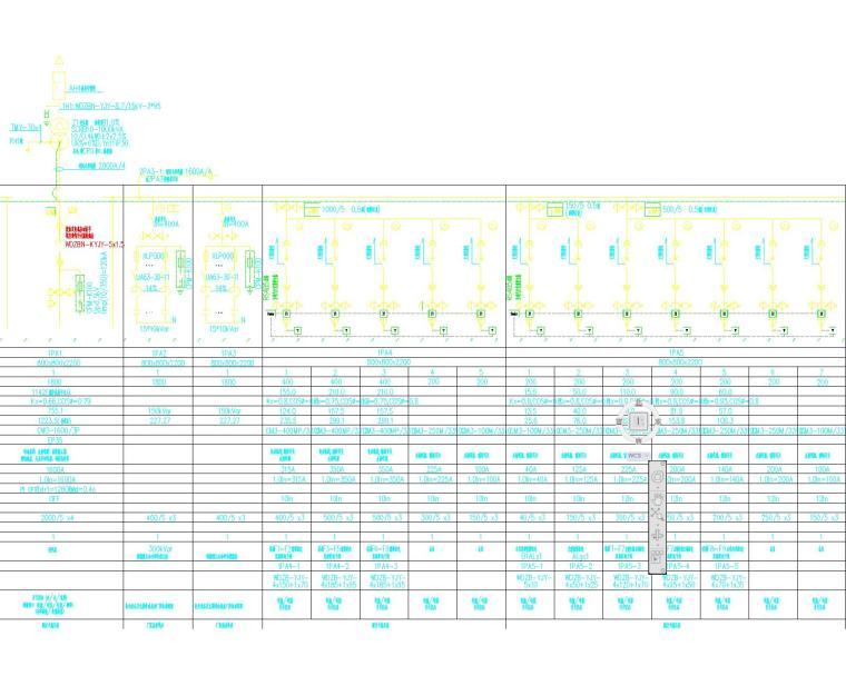 某图书馆电气施工图全套(含电气、照明、配电、消防联动)_2
