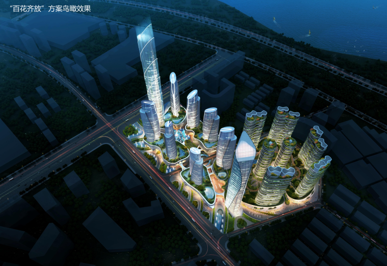 [广东]深圳文化创意产业园建筑方案设计文本