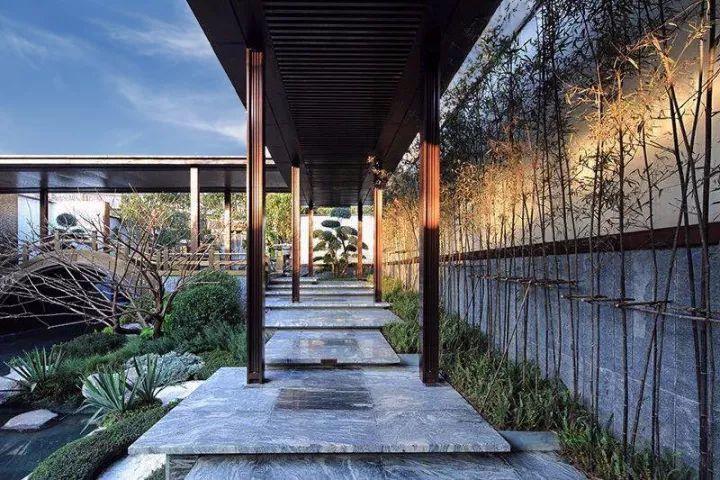 新时代的廊道与廊架,自成美景!