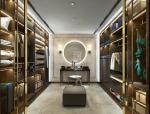 [深圳]超专业奢华风格样板房设计施工图(含高清效果图)