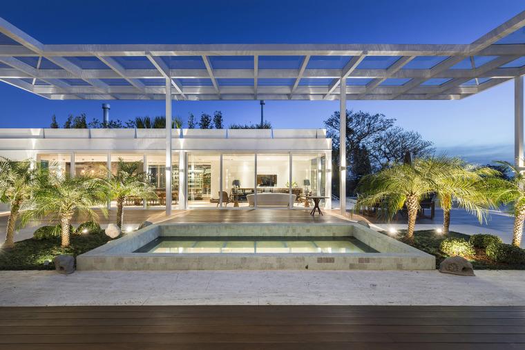 结构与空间融合的JardimdoSol住宅-15