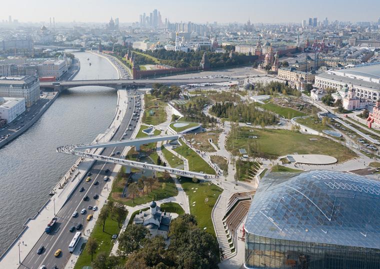 莫斯科zaryadye公园-2