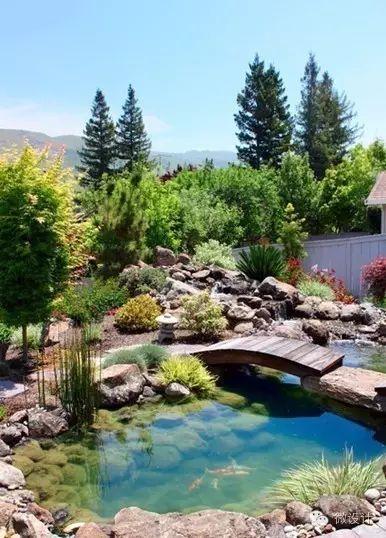 有了院子,一定要造一个水景_15