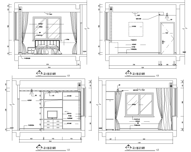 [上海]富春中式风格5层独立别墅施工图_11