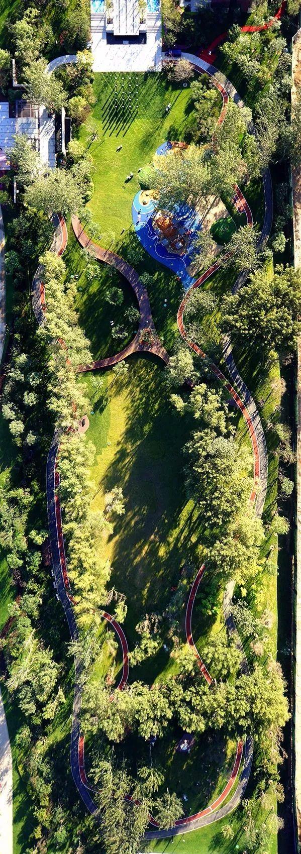 北京高档小区景观设计方案资料下载-高档小区的刚需——社区运动公园