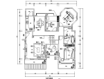 黑白色调住宅设计施工图(附效果图)