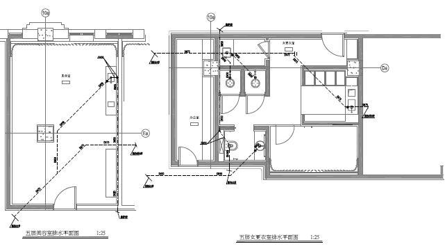 [上海]鲁能酒店附属楼给排水施工图_3