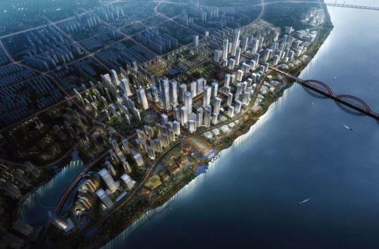 湖南金融中心总体城市设计
