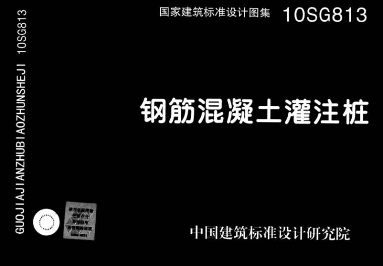 10SG813_钢筋混凝土灌注桩免费下载