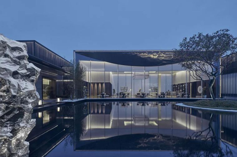 20套商业空间设计——挖掘现代设计的东方古典美学_7