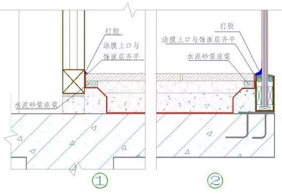 干挂石材、湿贴文化石、GRC装修施工细节_37