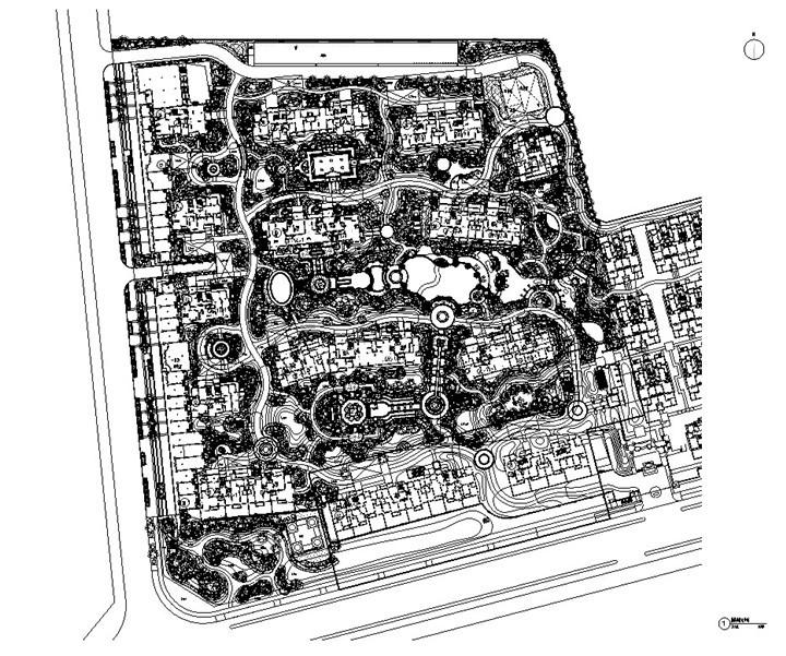 [江苏]高端公馆项目景观施工图(2016年最新独家)