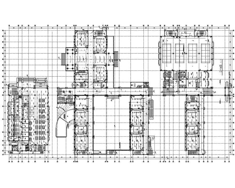 [江苏]小学初中部联合校区电气施工图最新设计