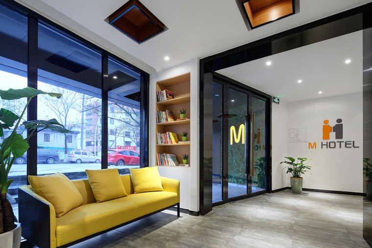 门厅-500㎡青年旅舍『M精品酒店』第1张图片