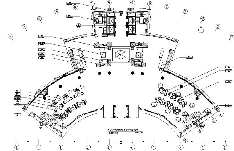 [辽宁]东北大厦酒店设计全套施工图(附效果图)