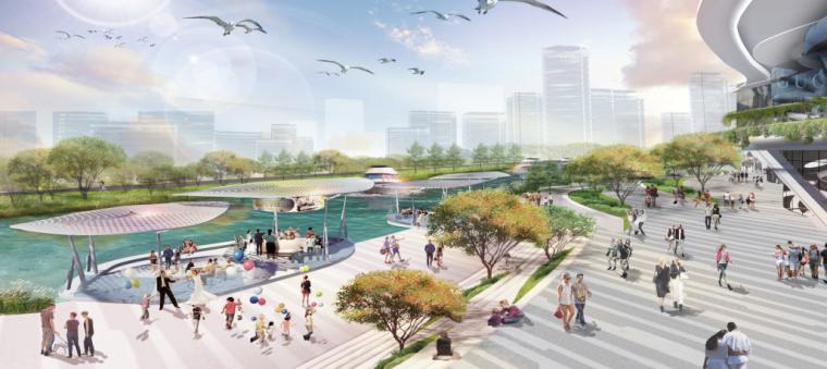 [浙江]宁波银泰匯城市规划景观概念性设计(现代风格)_13
