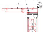 [天津]双塔办公楼工程B塔楼ZSL500型塔吊安装方案