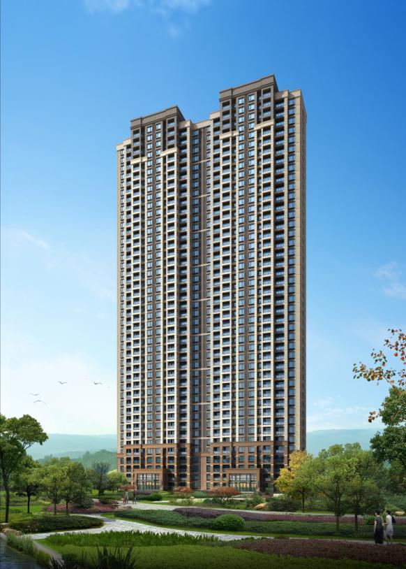 [武汉]保利高层住宅及超高层办公楼建筑方案文本(两套方案)_9