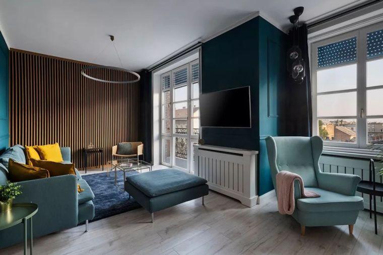深色系墙面设计,让你家的颜值翻一倍_4