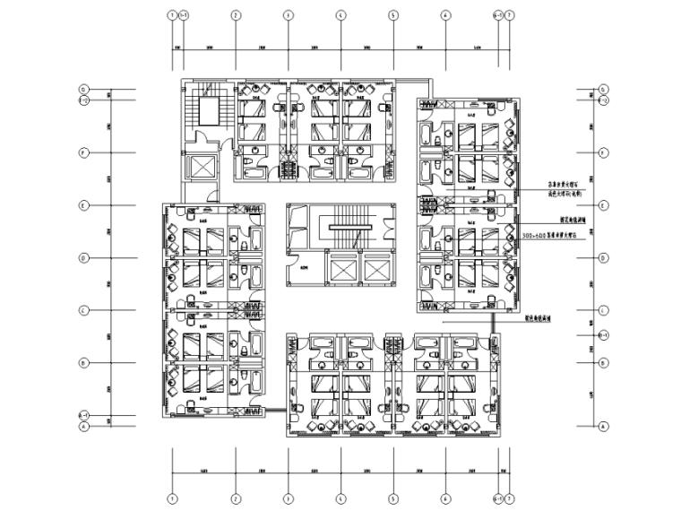 [辽宁]某大型饭店改造室内装修施工图