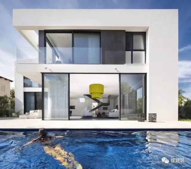 US现代建筑资料下载-两层 | 现代别墅