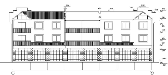 多层别墅景观设计全套施工图