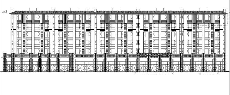 [江苏]六层框架结构住宅建筑施工图(含多栋楼)
