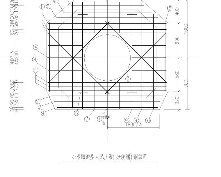 路灯+弱电管线施工图