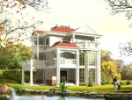 3层独栋别墅建筑设计