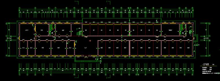 某框架结构办公楼施工图