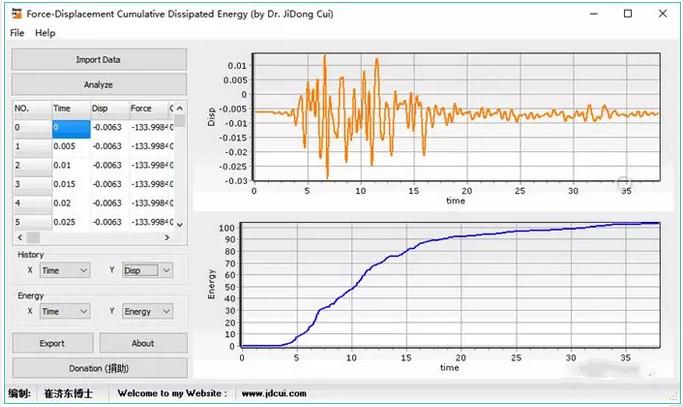 【科研小程序】力-位移累积耗能计算工具_4
