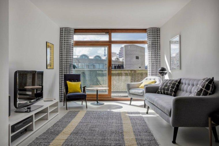 伦敦巴比肯庄园公寓改造-1