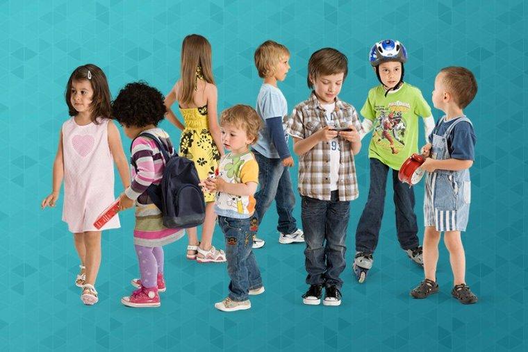 PS|高清小孩抠图素材