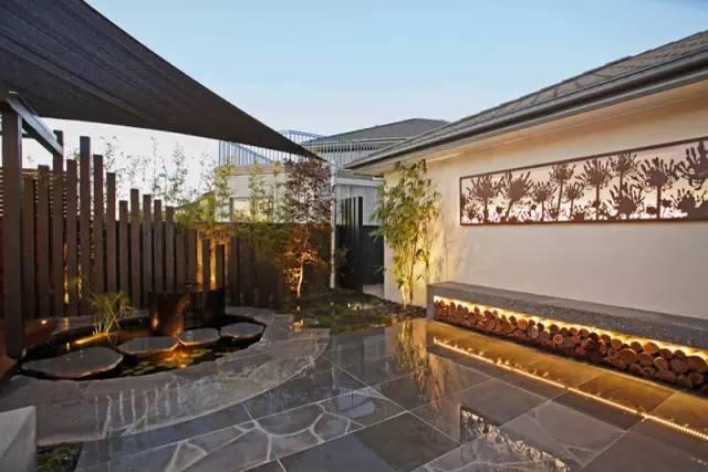 赶紧收藏!21个最美现代风格庭院设计案例_158