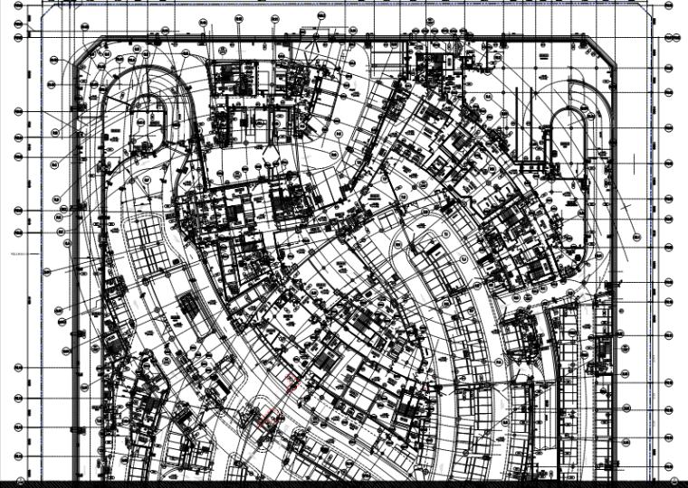 华东设计院——大连某办公项目总包图纸