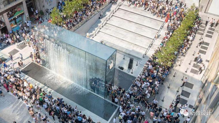 """苹果最新米兰旗舰店设计,被誉为""""欧洲最美苹果店""""_2"""