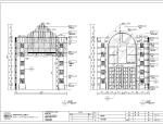 泊岸雅苑餐饮空间施工图及效果图(含58张图纸)