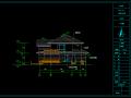 2层独栋别墅建筑方案设计(包含CAD)