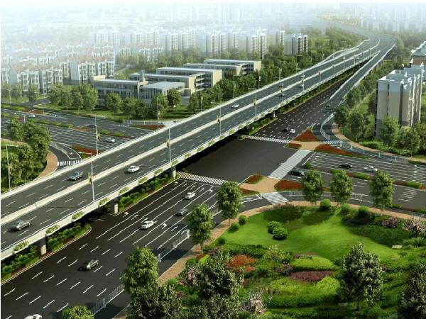 上跨高速公路现浇梁门洞支架施工法的研究