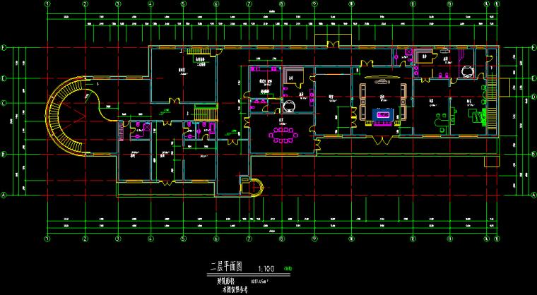 黑龙江滨湖酒店方案设计(CAD施工图及效果图)