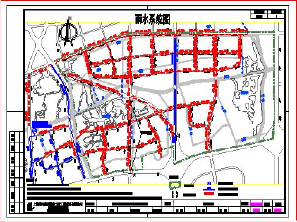 市政道路工程排水施工图纸(共40页,结构完整详细)
