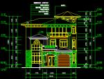 三层别墅设计方案全套图