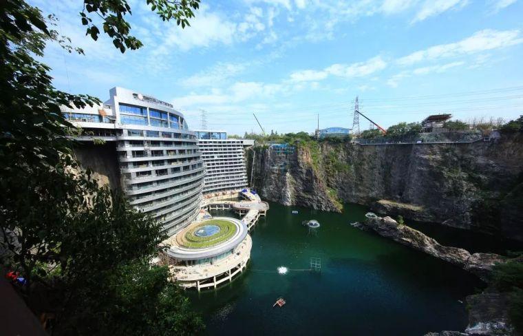 投入20亿的工程奇迹深坑酒店终于开业了,内部设计大曝光!_46