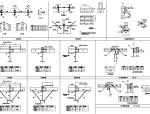 钢结构链接节点详图