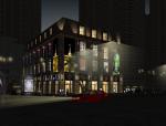 商业综合体建筑SU模型
