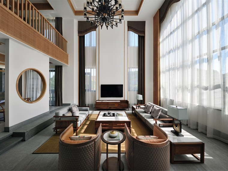 福建新中式風格的住宅