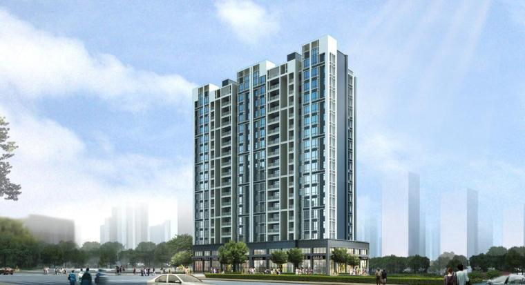 广西高层住宅小区水电图纸(含电气节能)