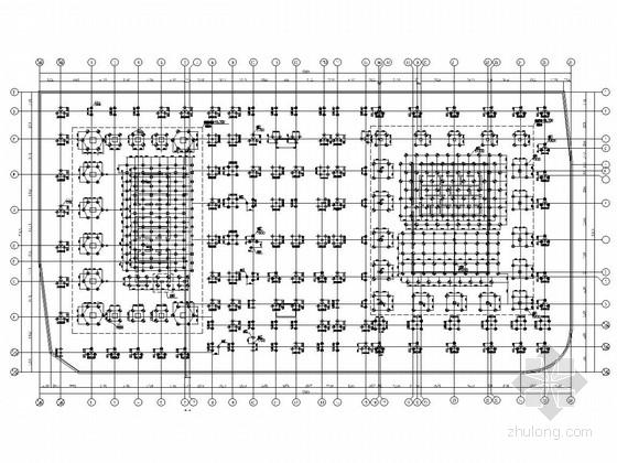 [杭州]44层加41层框筒伸臂桁架双塔共用地下室办公楼结构图(317张)