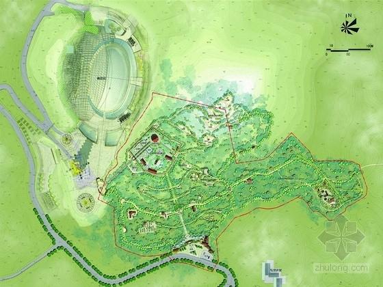 [南京]现代化城市多区功能整合景观规划设计方案(方案非常详尽)