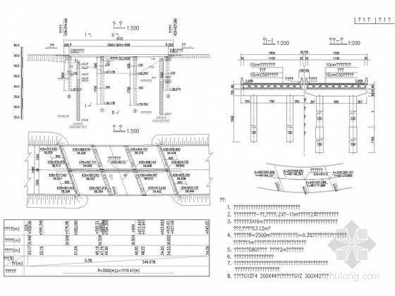 [湖北]3X16m预应力混凝土先简支后桥面连续空心板桥施工图46张